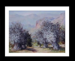 Olivos 1 original impressionist acrylic painting