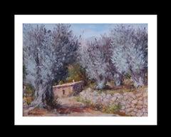 Olivos ll original impressionist acrylic painting