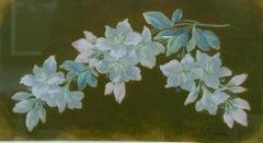 FLOWERS. Original pastel painting