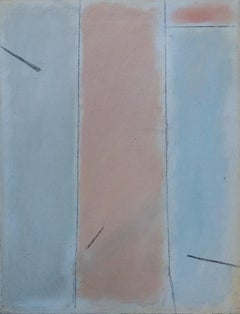 STUDY OF COLORS. Original abstract pastel painting
