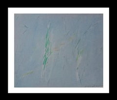 sin titulo original pastel abstract painting