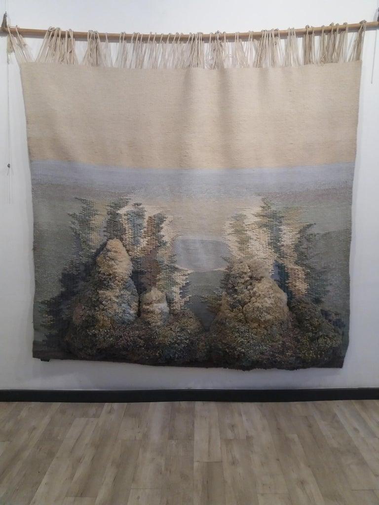 Birth of Venus. Original tapestry - Art by Maria Asuncion Raventos