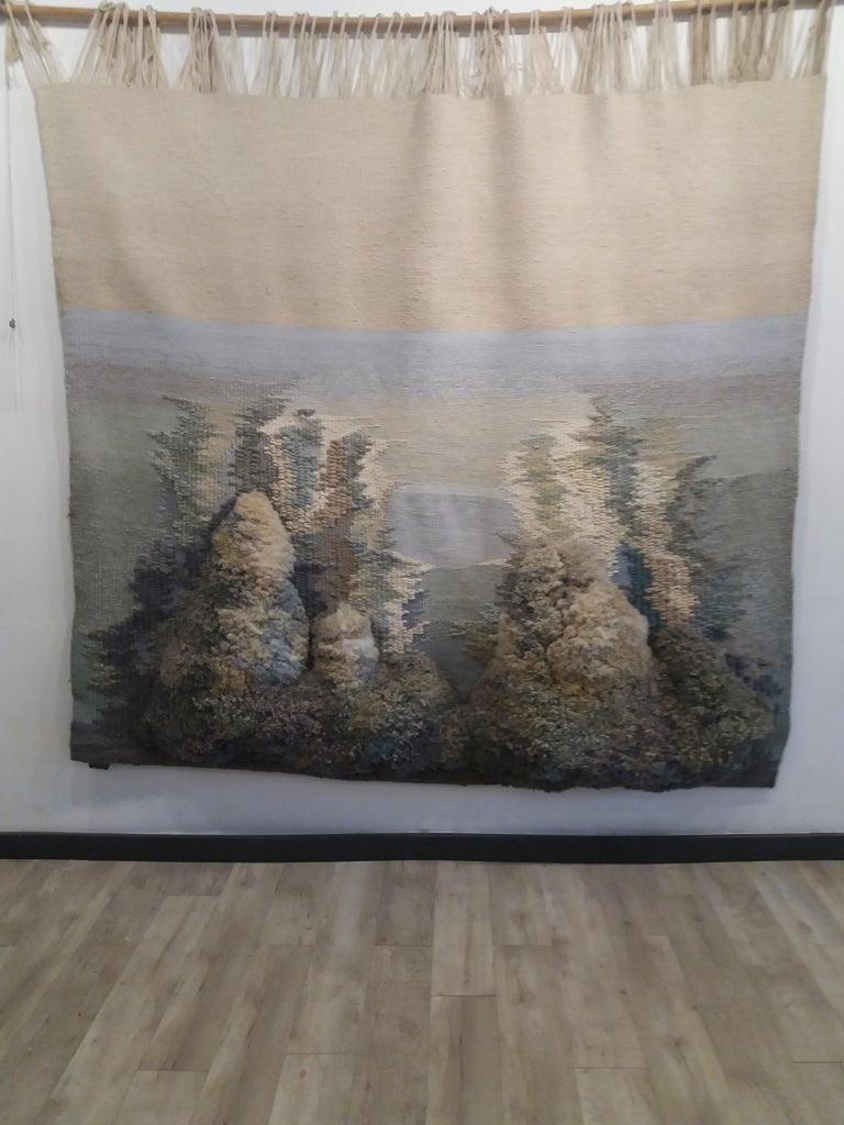 Birth of Venus. Original tapestry - Abstract Expressionist Art by Maria Asuncion Raventos