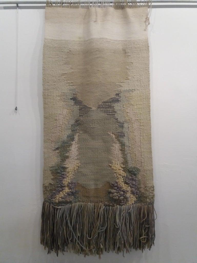 Manantial II. Original tapestry - Art by Maria Asuncion Raventos