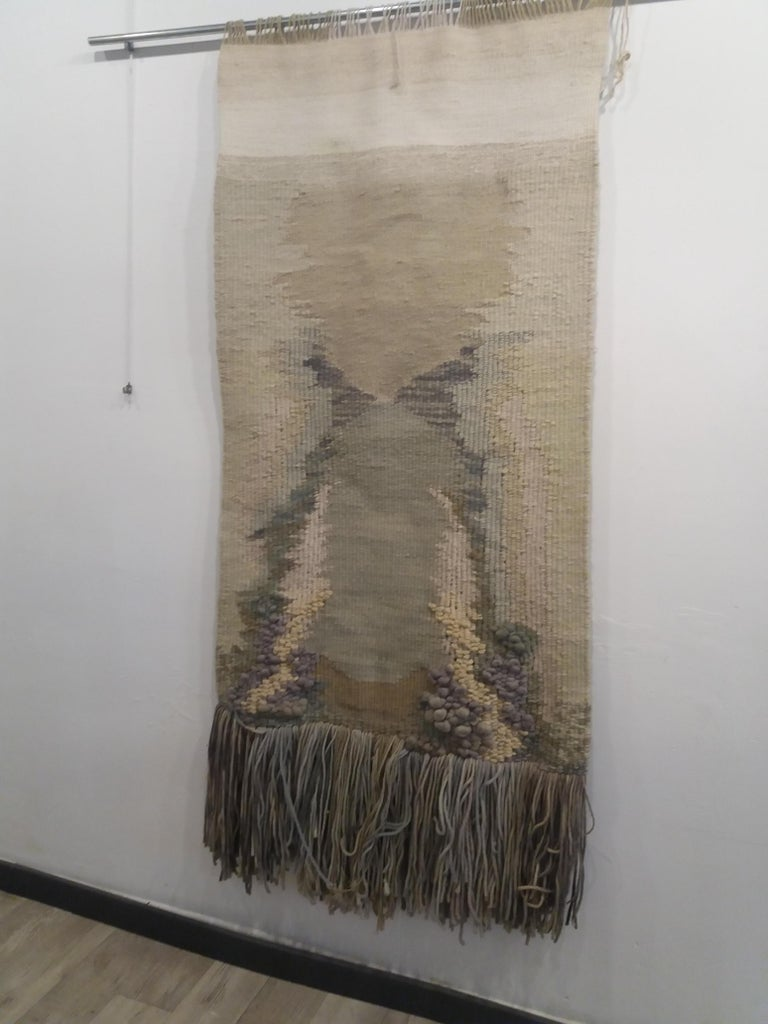 Manantial II. Original tapestry For Sale 1