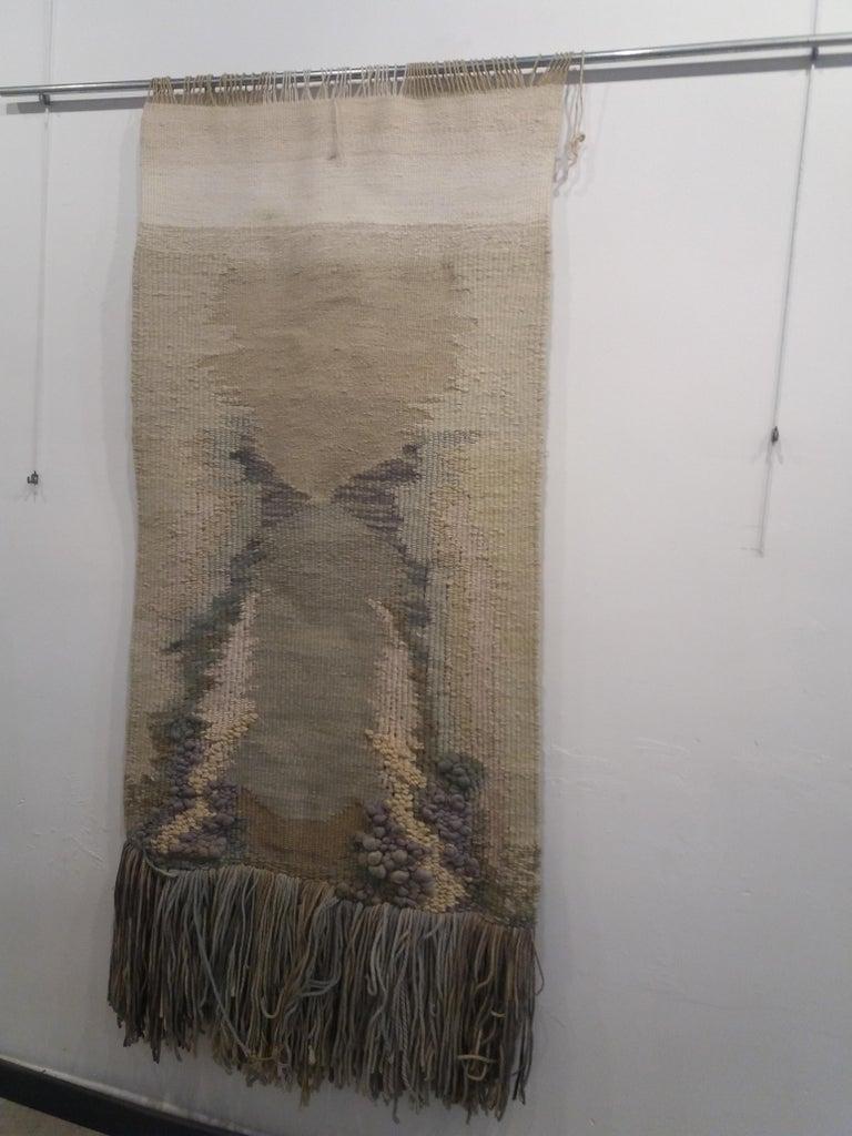 Manantial II. Original tapestry For Sale 2