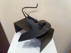Pez manta Original  unic contemporary iron sculpture
