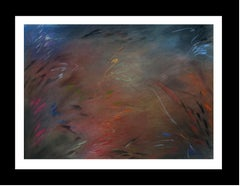 Colors original abstract pastel Painting