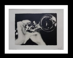 Nude trumpet Artistic photography