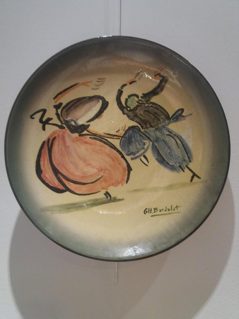 Bolero mallorquin. Original multiple ceramic piece - Art by Coll Bardolet