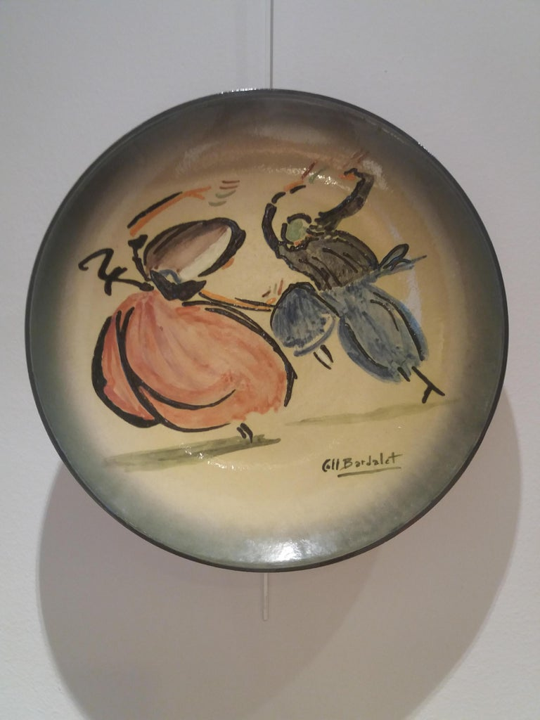 Bolero mallorquin. Original multiple ceramic piece - Expressionist Art by Coll Bardolet