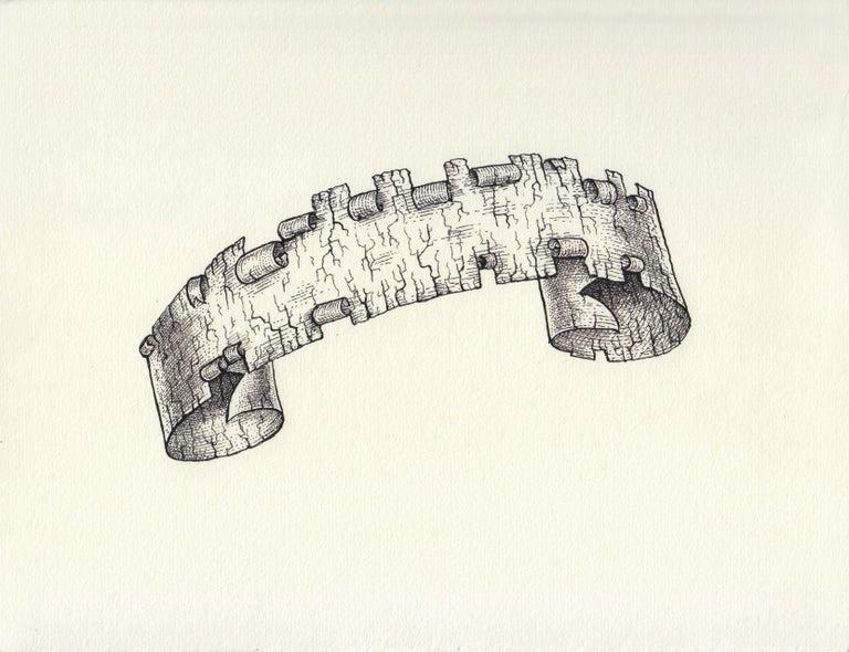 Renato Garza Cervera Abstract Drawing - Old Slogan