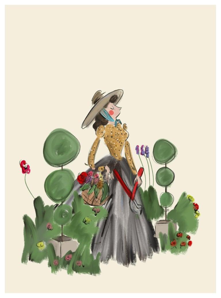 <i>The Gardener</i>, 2018, offered by Eerdmans Fine Art