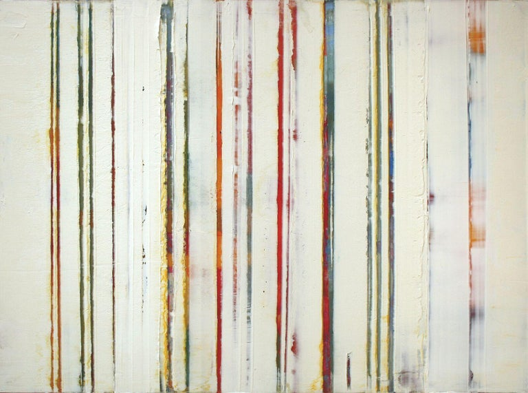 Greg Ragland Abstract Painting - Parallel Layers 5, Yellow
