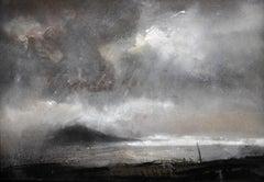 Swnt Enlli – Bardsey Sound, Wales. Original Landscape Watercolor. Welsh Artist.
