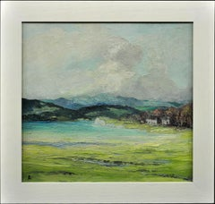 Sunshine & Shadows. Lake District.Helen Layfield Bradley.Original Oil Impasto.