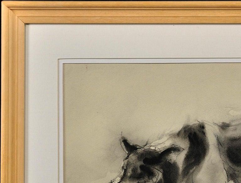 Sheepdog. Original Watercolor by Welsh Artist William Selwyn. Working Dog.  4