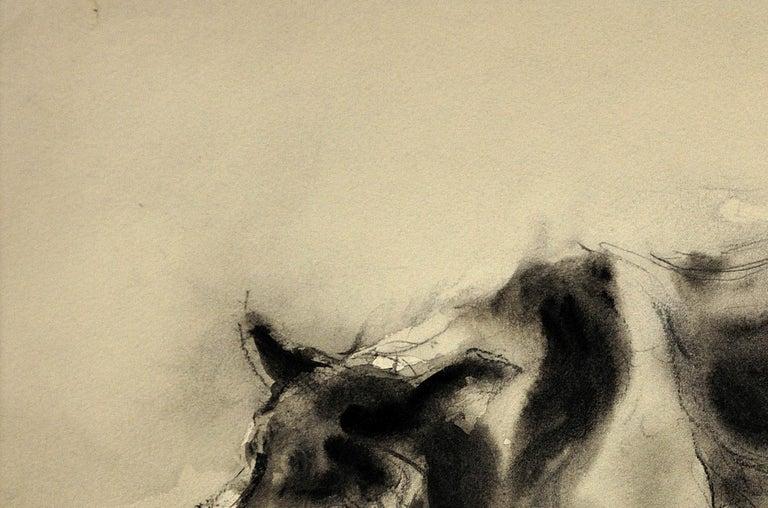 Sheepdog. Original Watercolor by Welsh Artist William Selwyn. Working Dog.  5
