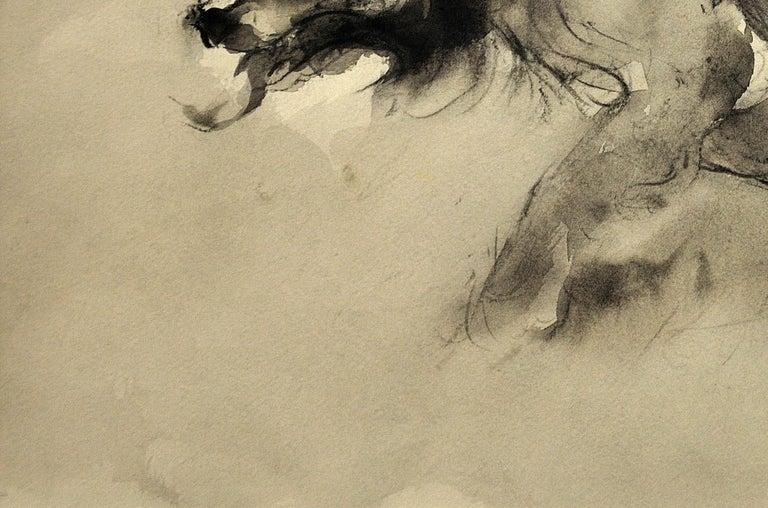 Sheepdog. Original Watercolor by Welsh Artist William Selwyn. Working Dog.  7