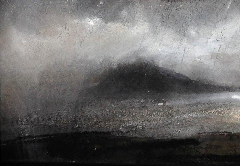 Swnt Enlli – Bardsey Sound, Wales. Original Landscape Watercolor. Welsh Artist. For Sale 5