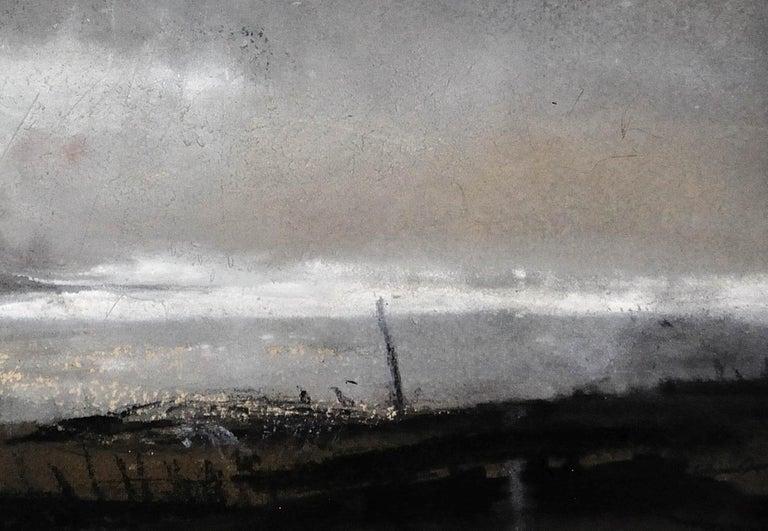 Swnt Enlli – Bardsey Sound, Wales. Original Landscape Watercolor. Welsh Artist. For Sale 6