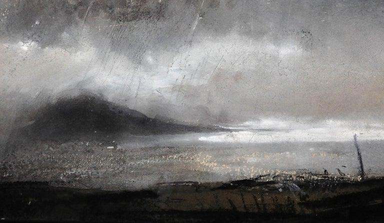 Swnt Enlli – Bardsey Sound, Wales. Original Landscape Watercolor. Welsh Artist. For Sale 8