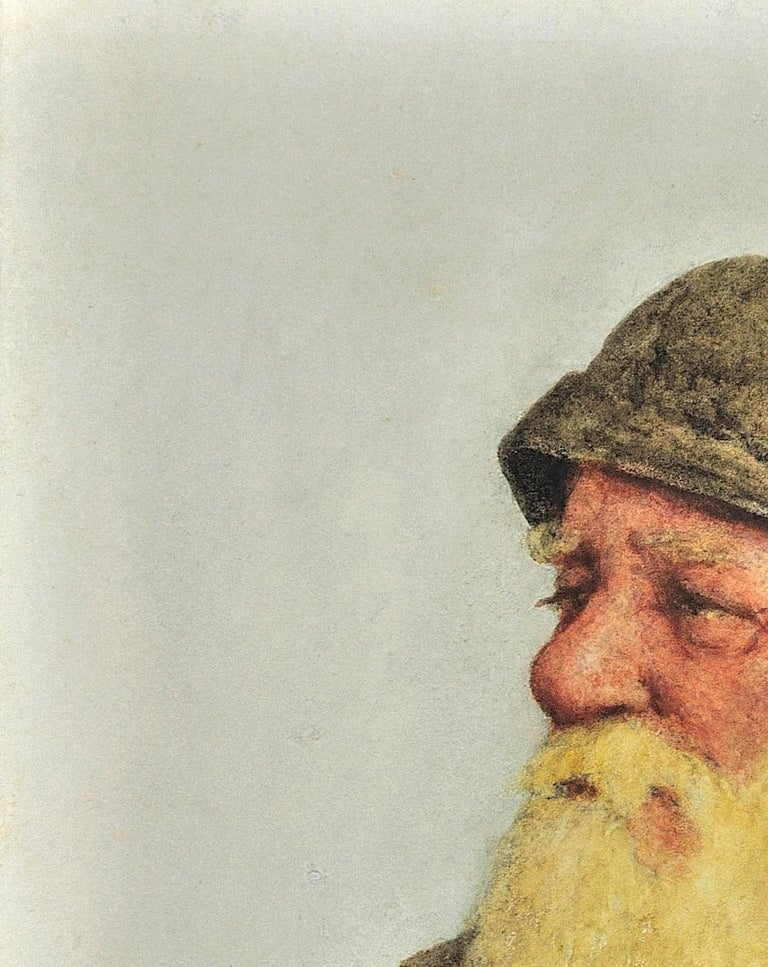 Portrait of a Newlyn Fisherman.Newquay Provenance.Cornwall Fishing Industry 1928 For Sale 4