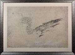 Sea Symphony. Original Drawing. 1966. Island of Hydra Artist & Writer Commune.