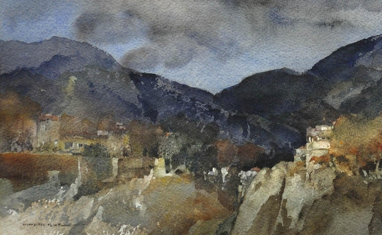William Russell Flint - November in Provence (near Vence