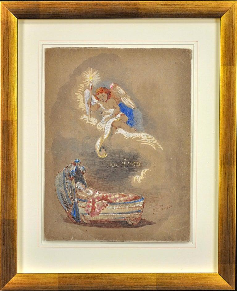Hrh Princess Alice Maud Mary Hanover Figurative Drawing