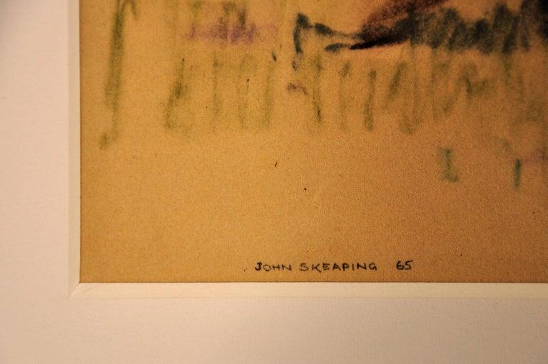 Into the Final Furlong. 1965.Race Horses. Equine.Jockeys.Horse Racing.Racetrack. - Brown Animal Art by John Rattenbury Skeaping