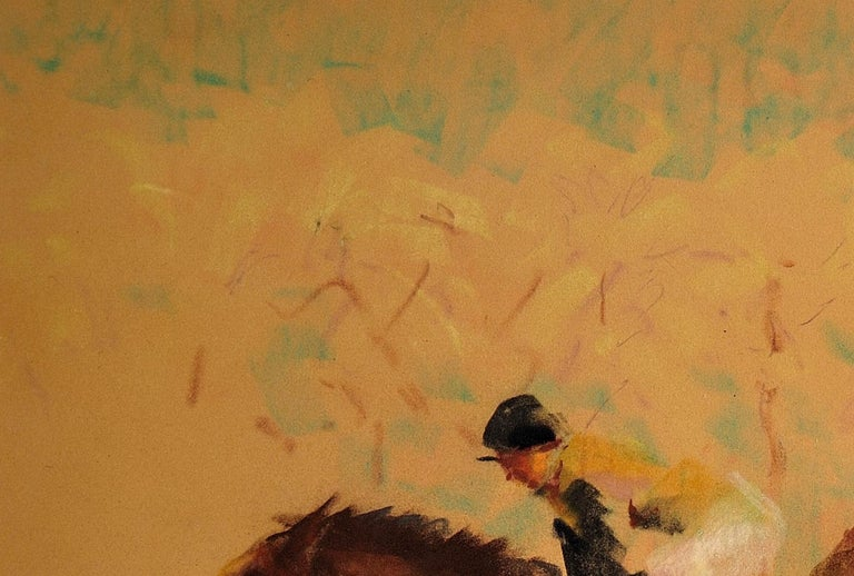 Into the Final Furlong. 1965.Race Horses. Equine.Jockeys.Horse Racing.Racetrack. For Sale 5