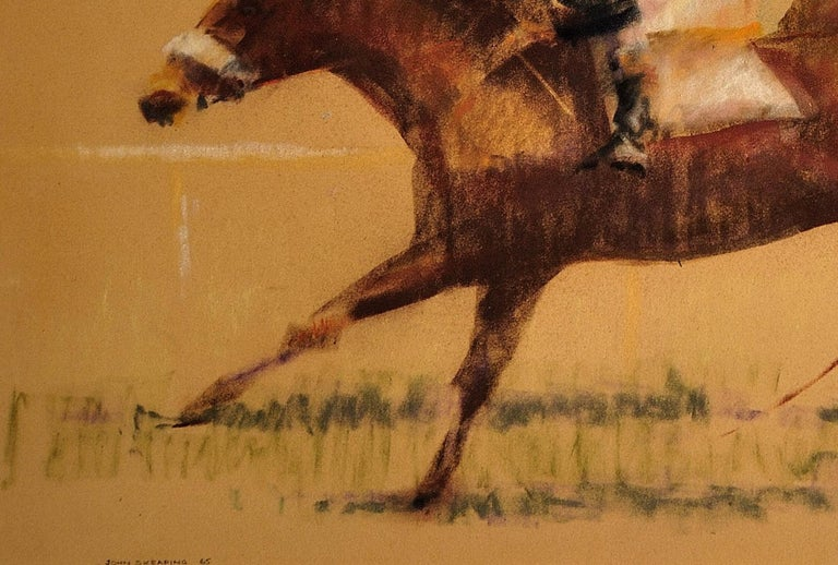 Into the Final Furlong. 1965.Race Horses. Equine.Jockeys.Horse Racing.Racetrack. For Sale 7