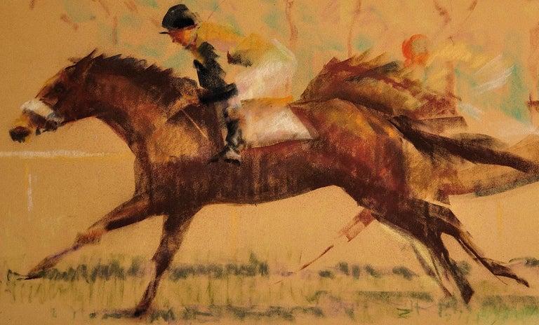 Into the Final Furlong. 1965.Race Horses. Equine.Jockeys.Horse Racing.Racetrack. For Sale 8