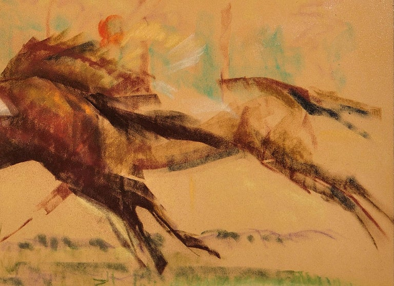 Into the Final Furlong. 1965.Race Horses. Equine.Jockeys.Horse Racing.Racetrack. For Sale 9