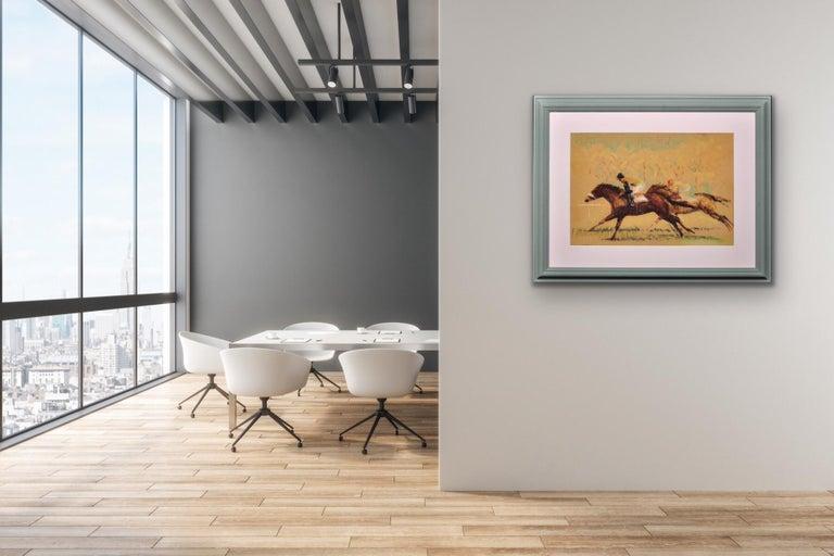 Into the Final Furlong. 1965.Race Horses. Equine.Jockeys.Horse Racing.Racetrack. For Sale 3