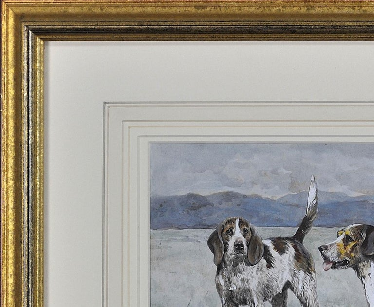 Welsh Hounds from the Packs of Lieutenant Buckley & the Honourable H.C. Wynn. For Sale 3