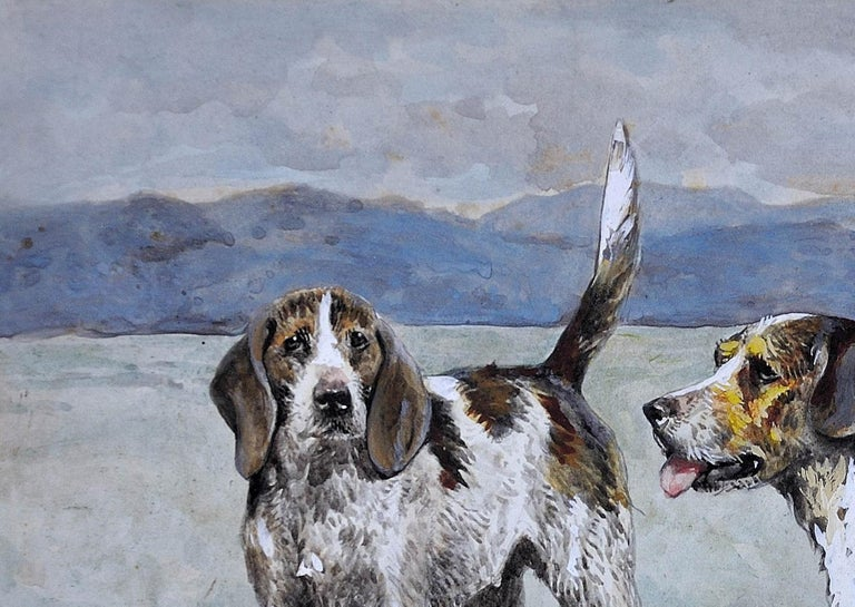 Welsh Hounds from the Packs of Lieutenant Buckley & the Honourable H.C. Wynn. For Sale 4