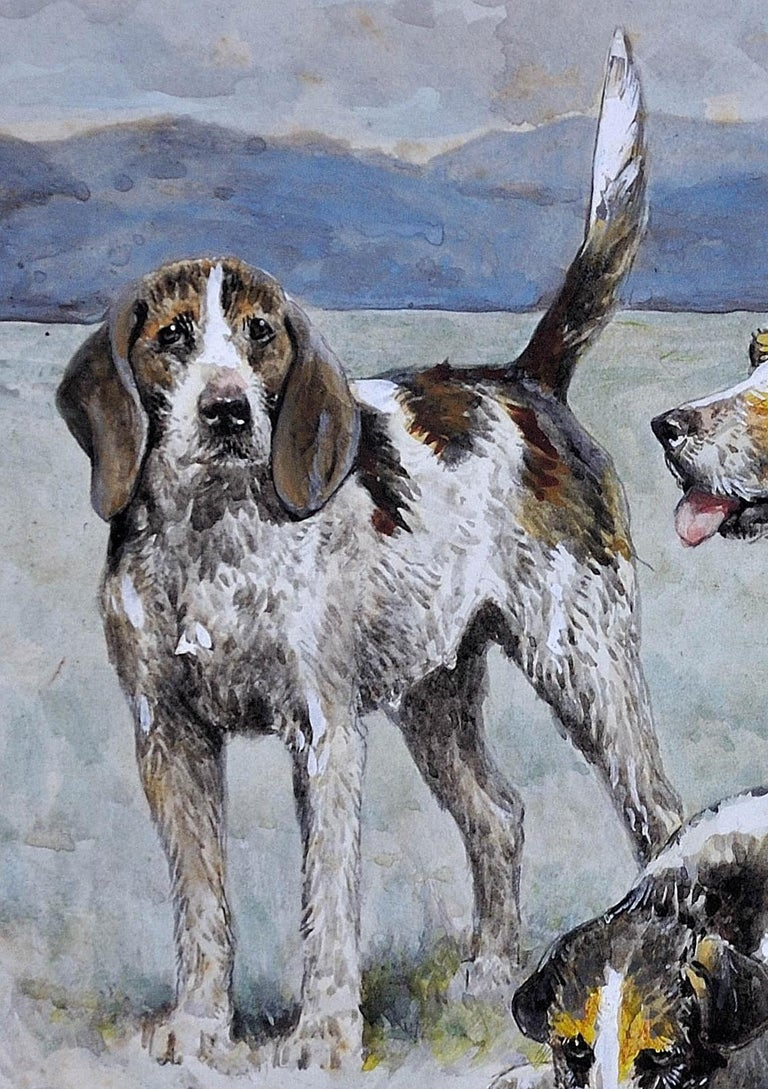 Welsh Hounds from the Packs of Lieutenant Buckley & the Honourable H.C. Wynn. For Sale 8