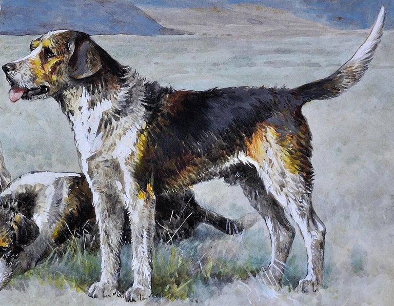 Welsh Hounds from the Packs of Lieutenant Buckley & the Honourable H.C. Wynn. For Sale 10