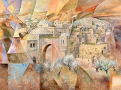 Reflections of Jerusalem (Abstract Judaica)