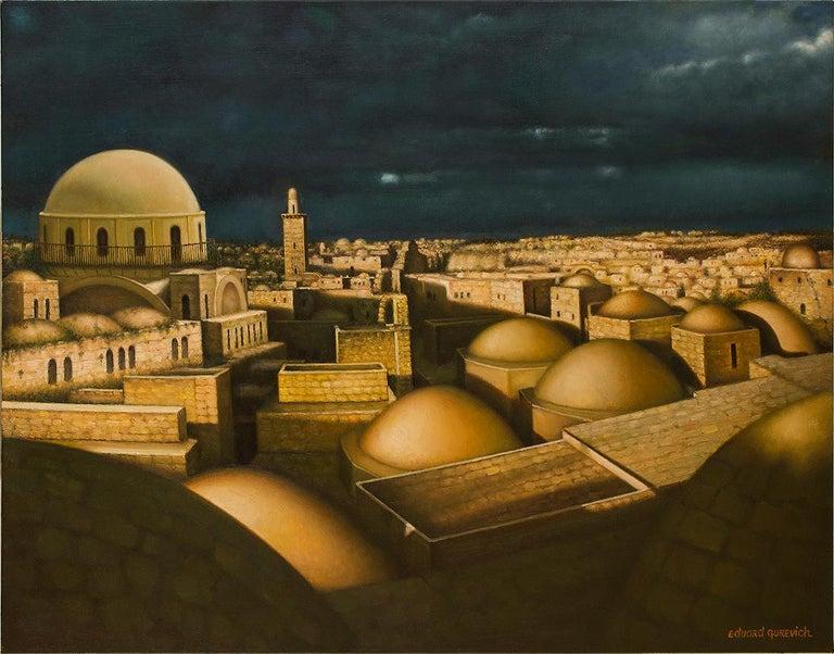 """Jerusalem of Gold; """"Yerushalyim shel Zahav"""" (Judaica) 1"""