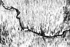 Waterline VI - black and white minimalist landscape photograph 26 x 40 inches