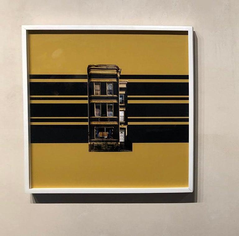 Boswijck 9- un-framed 20 x 20 inch color, minimalist photograph - Photograph by Niv Rozenberg