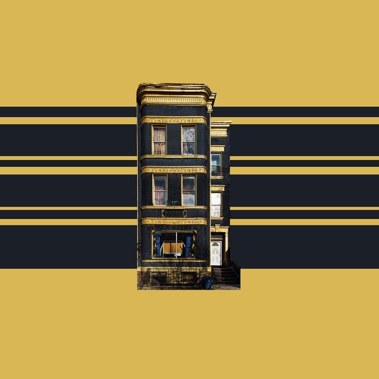 Niv Rozenberg Color Photograph - Boswijck 9- un-framed 20 x 20 inch color, minimalist photograph