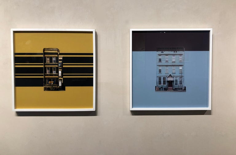 Boswijck 9- un-framed 20 x 20 inch color, minimalist photograph - Contemporary Photograph by Niv Rozenberg