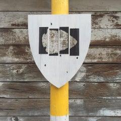 GYE Trail Sign, Black Flag