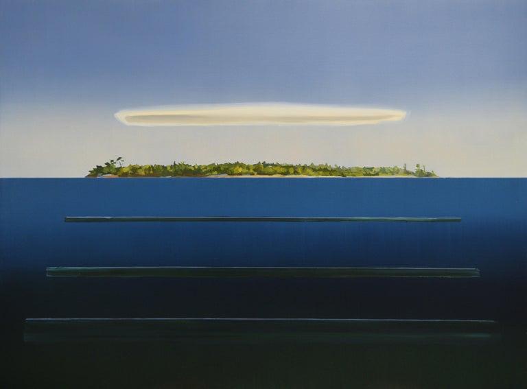 Beau Carey Landscape Painting - 3 Swells