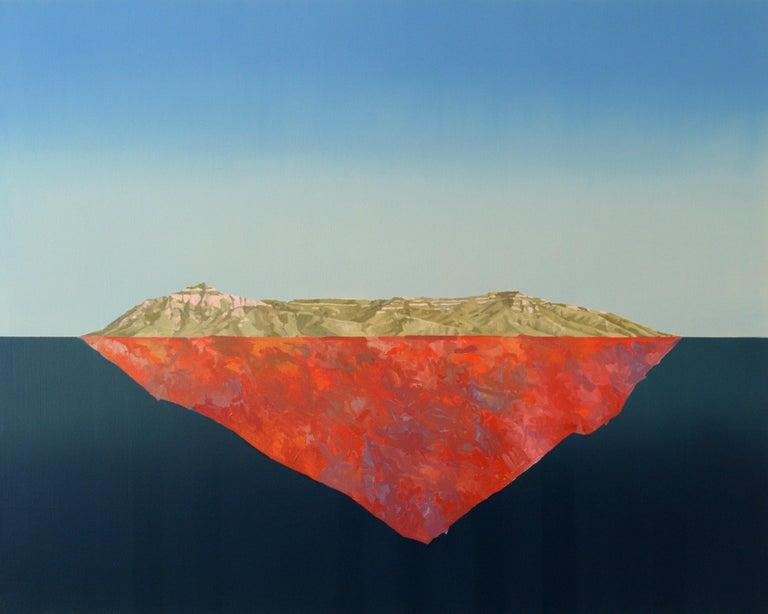 Beau Carey Abstract Painting - Manzano