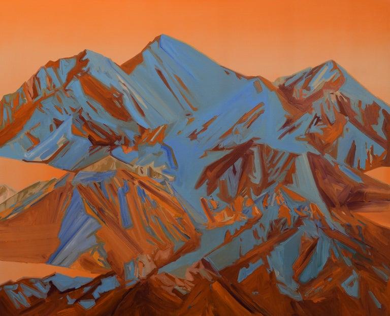 Beau Carey Landscape Painting - San Luis